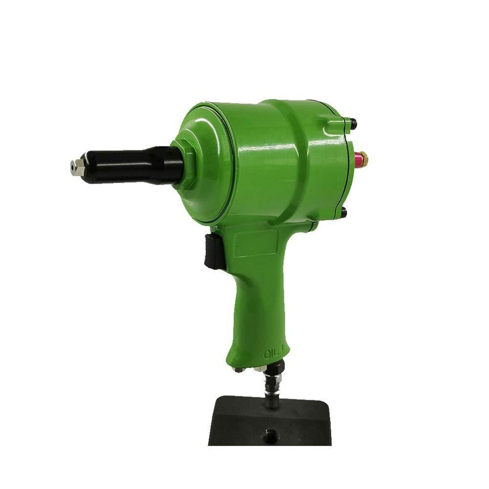 Self-priming Air Gun Type Rivet Gun, Nail Gun Pneumatic Tool Industrial Grade Hand Tool (Color : Green) by XIAOL-Pneumatic Tool