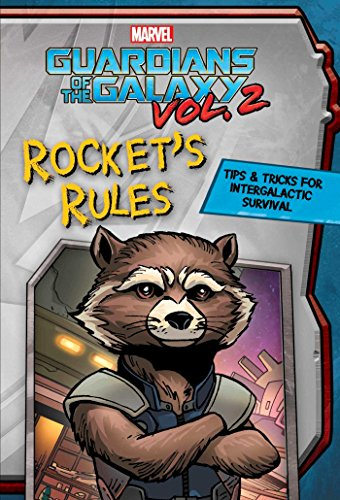 Marvel Guardians of the Galaxy: Rocket's Rules: Tips & Tricks for Intergalactic Survival (Replica Journal)
