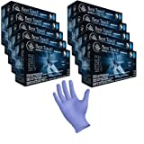 Nitrile Exam Gloves with Aloe and Vitamin E, Powder Free, Best Touch, 200 Gloves/box, Sizes XS - XL (2,000, Small)