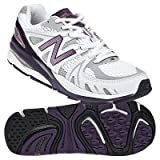New Balance Women's W1540 Running Shoe,White/Purple,7 D US
