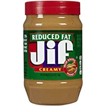 Jif Reduced Fat Creamy Peanut Butter, 40 oz by Jif