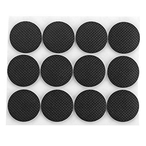 VONOTO 120PCS Self-stick Rubber Anti-skid Pad Value Pack Furniture and Floor Protectors - Circular Diameter 0.99x0.99x0.12''