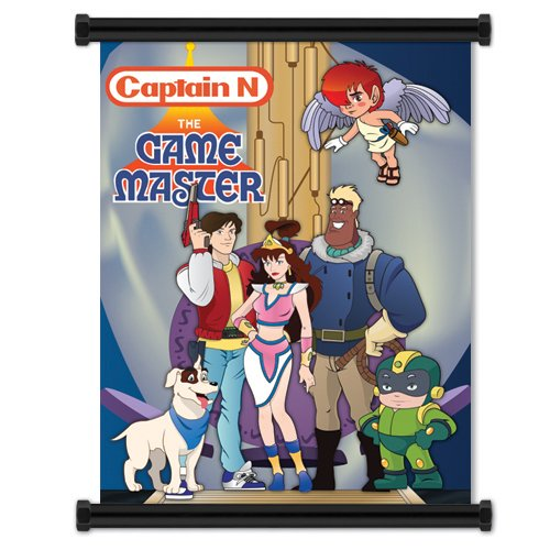 Captain N The Game Master: Group Wall Scroll Poster 32 x 42