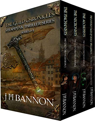 (The Guild Chronicles Steampunk Thriller Series Books 1-3: A paranormal steampunk thriller box set (The Guild Chronicles Box Set Book 1) )