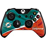 Skinit NFL Miami Dolphins Xbox One Controller Skin - Miami Flag Design Design - Ultra Thin, Lightweight Vinyl Decal Protection