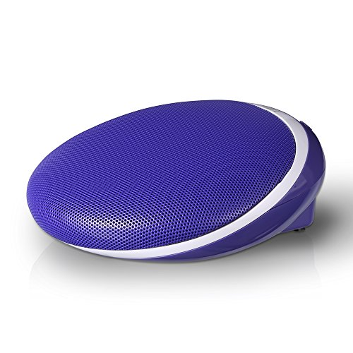 iui DESIGN DRIVE Portable Bluetooth Stereo Speaker and Speakerphone PF-306 Blue