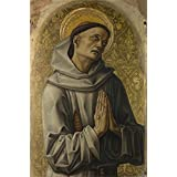 Canvas Prints Of Oil Painting ' Carlo Crivelli - Saint Francis,1476 ' , 16 x 24 inch / 41 x 62 cm , High Quality Polyster Canvas Is For Gifts And Dining Room, Hallway And Home Theater Decoration, huge