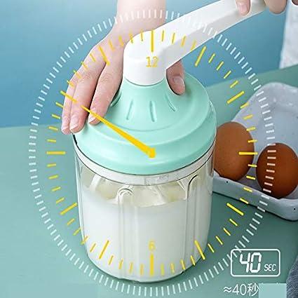 Batidor Batidora manual Batidora de huevos Batidora manualHerramientas para hornearbatidorade lechebatidora deajo alioli batido artefacto