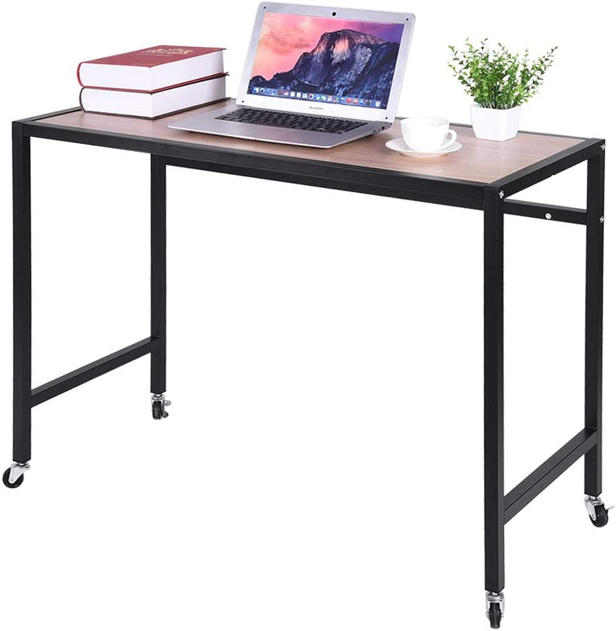 - Amazon.com: Luyiyan Mobile Computer Desk Portable Home Office Desk