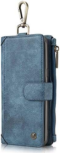 Samsung Galaxy S8/S8 Plus Case Magnetic Detachable Case with Belt Buckle