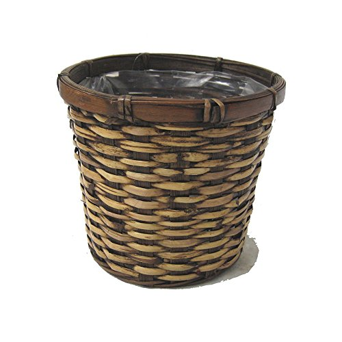 The Lucky Clover Trading Rattan Planter Basket, 9