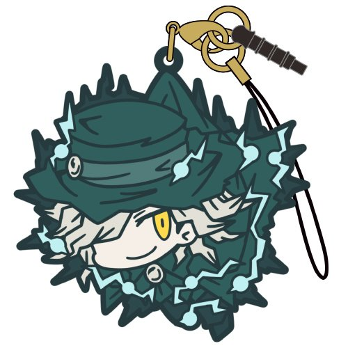 Fate/Grand Order Avenger Gankutsuo Edmond Dantes Character Tsumamare Pinch Rubber Phone Strap Mascot Collection Anime