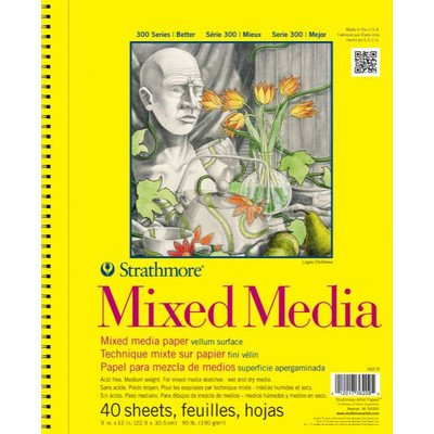 300 Series Mixed Media Pad [Set of 12] by Strathmore