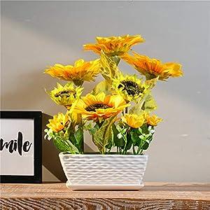 YSZL Artificial Sunflower with Pot 2