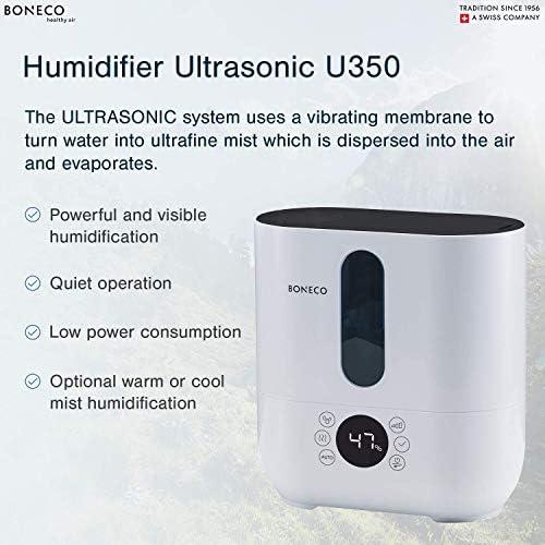 BONECO Warm or Cool Mist Ultrasonic Humidifier U350 Top fill