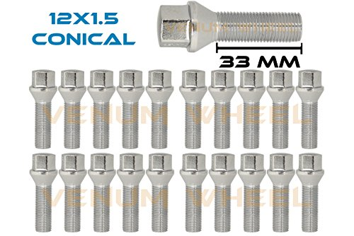 Bmw Chrome Lug Bolts - 5