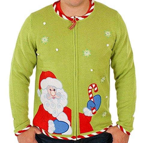 Candy Cane Ugly Christmas Sweater