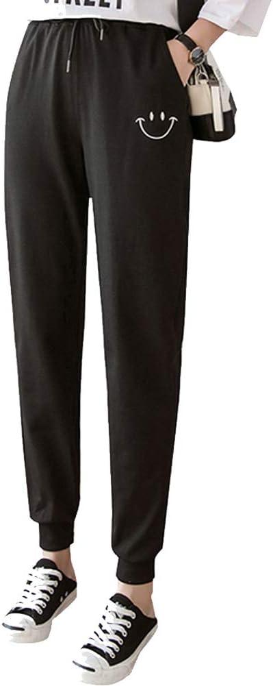 Chinashow - Pantalones de chándal para Mujer con Bolsillos y ...