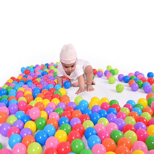 Supershopping 100x Colorful Ocean Soft Plastic Balls Swim Pool Fun Play Babys Kids Toys by Supershopping