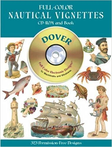 Full-Color Nautical Vignettes CD-ROM and Book (Dover Pictorial Archives) by Dover (2002-05-30)