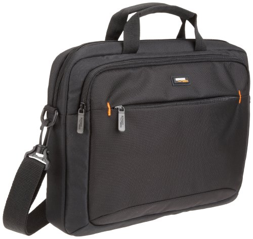 Carrying Case Briefcase - AmazonBasics 14-Inch Laptop Macbook and Tablet Shoulder Bag Carrying Case