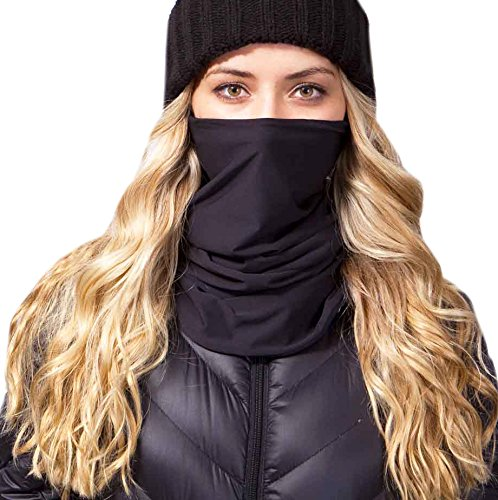 Celtek Women's Paradise Gore Windstopper Neck Gaiter, One Size, Black