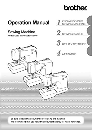 Brother CX155LA Sewing Machine Owners Instruction Manual: There and Back: Amazon.com: Books