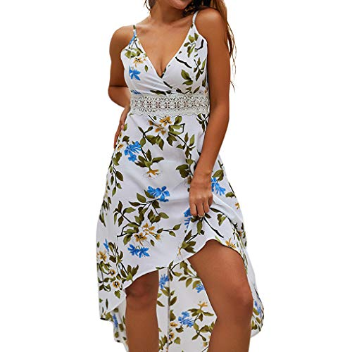 HYIRI Large Petals Bohemian Camisole Dress,Women's Summer V-Neck Dress -