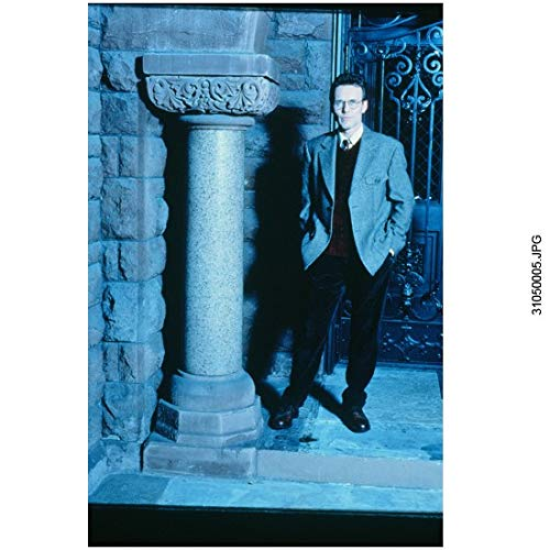(Anthony Head 8 inch x 10 inch Photograph Buffy the Vampire Slayer (TV Series 1997-2003) Next to Pillar Hands in Pockets kn)