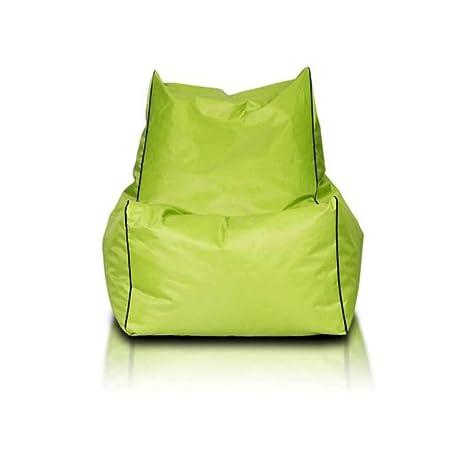 JUSTyou Solid Puff Cojín Gigante de Nailon Color: Verde ...