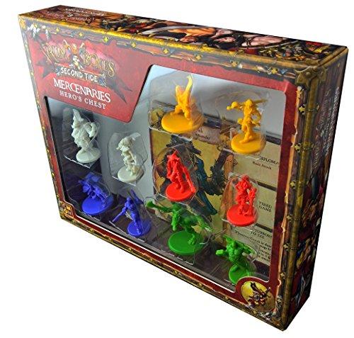 15 Yr Old Rum - CMON Rum & Bones: Second Tide Mercenaries Heroes Chest Board Game