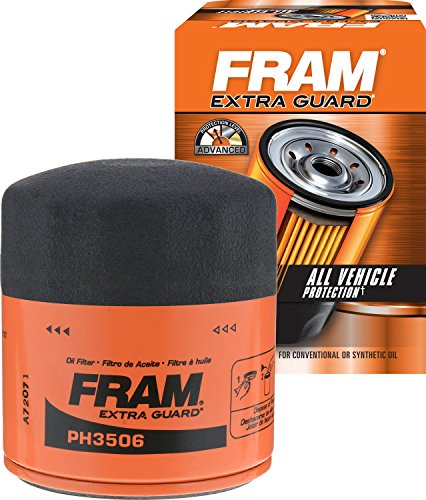 Price comparison product image FRAM PH3506 Extra Guard Passenger Car Spin-On Oil Filter