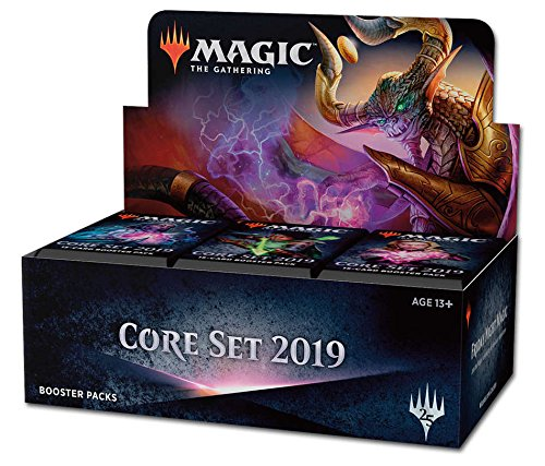 36ct Booster Box - MTG Magic the Gathering Core 2019 Booster Box: 36 packs (540 cards)