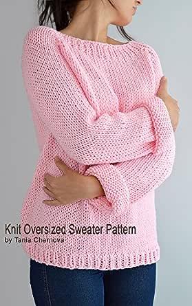 Fairy Kei Sweater Pattern Oversized Sweater Pattern Easy Knit Sweater Knit Raglan Knit Pullover Knit Jumper Knitting Pattern