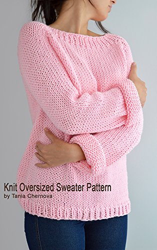 Fairy Kei Sweater Pattern Oversized Sweater Pattern Easy