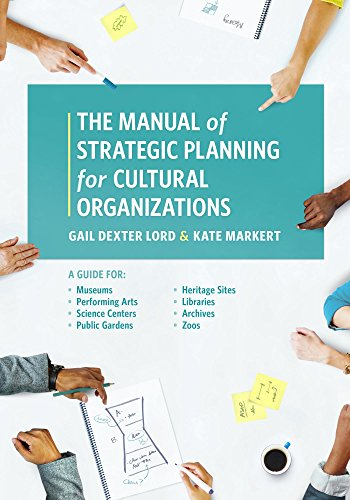 - The Manual of Strategic Planning for Cultural Organizations: A Guide for Museums, Performing Arts, Science Centers, Public Gardens, Heritage Sites, Libraries, Archives and Zoos