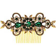Vogue Hair Accessories Antique Plated Exclusive Collection Wedding Party Fancy Bridal Comb Hair Clip
