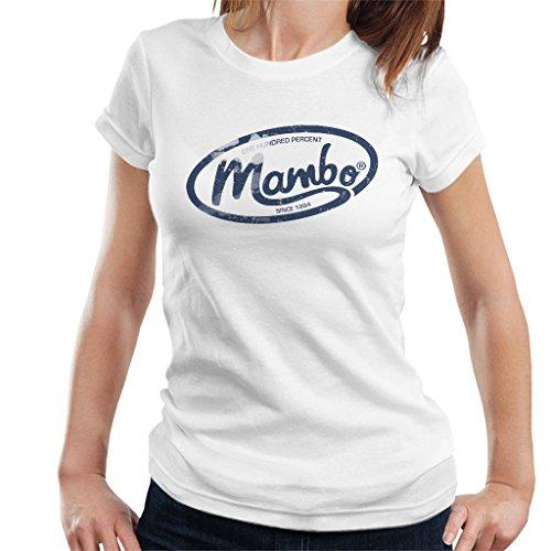 White shirt Mambo Dark Women's Oval T Logo xqYXfU