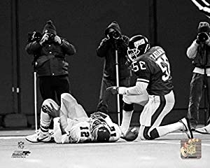 """New York Giants Lawrence Taylor """"Sack"""" 8x10 Photo Picture"""