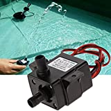 Generic 12V 3.6W Mini DC Brushless Garden Fountain Pump Hydrological Cycle Submersible Water Pump