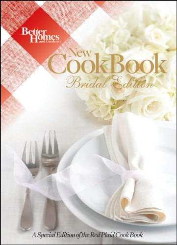 Better Homes and Gardens New Cook Book, 15th Edition Bridal (Better Homes and Gardens Plaid) by Houghton Mifflin