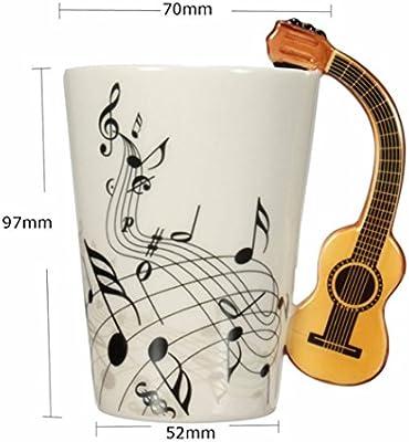 HARD VILLAIN 220ml Guitar Ceramic Cup / Mug /Coffee Tea Cup Home ...