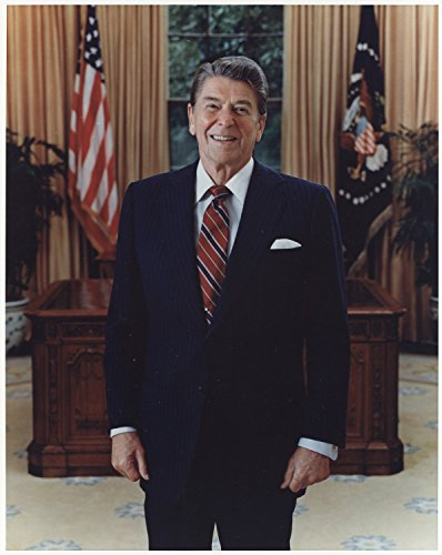 Portrait of Ronald Reagan , 8''x10'' Photo Print