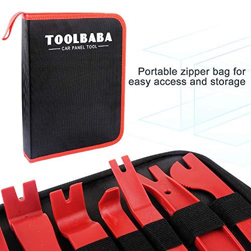 TOOLBABA 19 pcs Trim Removal Tool Set , Car Panel Removal Tool, Auto Trim Removal Tool Kit with Storage Bag by TOOLBABA (Image #1)