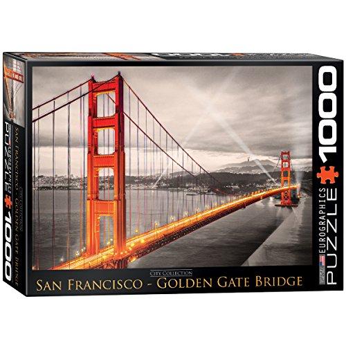 EuroGraphics San Francisco Golden Gate Bridge Puzzle (1000-Piece) ()