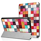 New iPad 9.7 2017 Case ,Heavy Duty Ultra Slim Lightweight Kickstand Smart-Shell Floding Cover Case Sleep/ Wake Up for Apple New iPad 9.7 2017 (colorful)