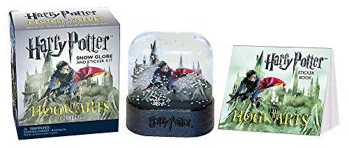 (Harry Potter Hogwarts Castle Snow Globe and Sticker Kit (Miniature Editions) )