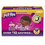 Pull-Ups Learning Designs Training Pants for Girls, Size 2T-3T, 124 ct. (pack of 6)
