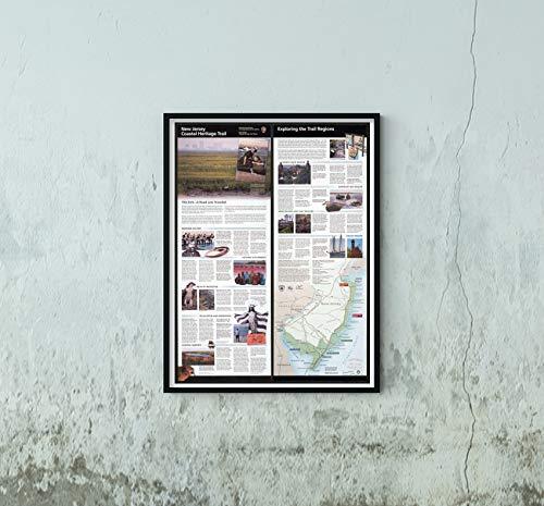 2007 Map|Title: New Jersey Coastal Heritage Trail|Subject: Heritage Tourism, Tourist|New Jersey|New