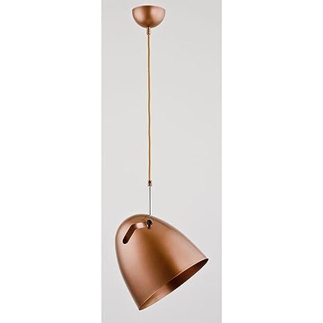ALFA Bolo Cobre 1 Lámpara de Techo iluminación Pendiente ...